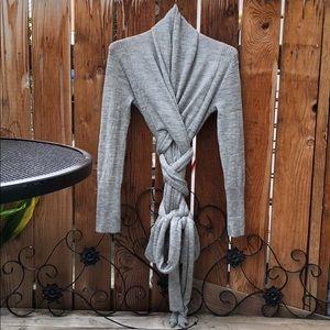 Ralph Lauren X Alpaca Wool Sweater grey M/L